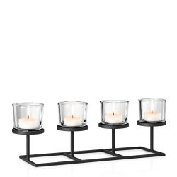 Tealight Holder Nero | 32 cm