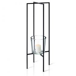 Floor Tealight Holder Nero | 80 cm
