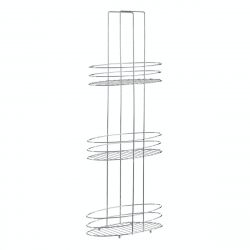 3 Tier Bathroom Organiser | Silver