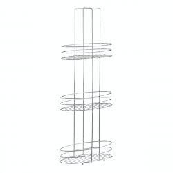 3-stöckiger Badezimmer-Organiser | Silber