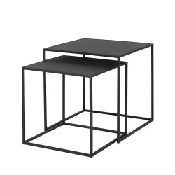 Set of 2 Tables Fera | Black