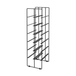 Wine Bottle Rack Pilare | 12 Bottles | Black