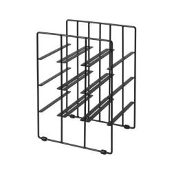 Wine Bottle Rack Pilare | 9 Bottles | Black