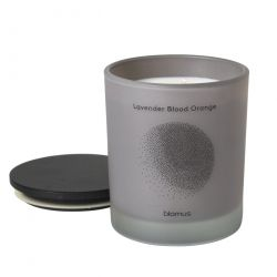Scented Candle Lavender Blood Orange L | Grey
