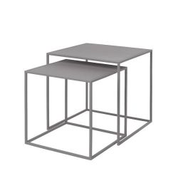 Set de 2 Tables d'Appoint Fera | Gris Dove
