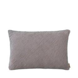 Cushion Cover RIBB 40 x 60 cm | Bark/Mourning Dove