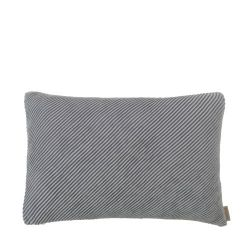 Cushion Cover RIBB 40 x 60 cm | Pewter/Mourning Dove