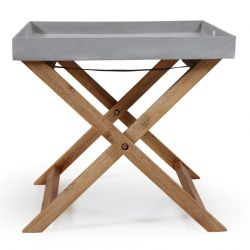 Foldable Table Woodford | Grey