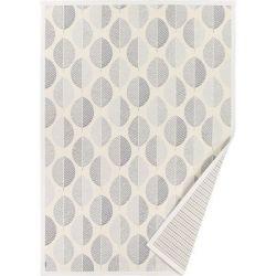 Doppelseitiger Teppich Parna | Weiß