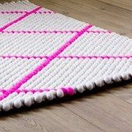 Dot Carpet Hot Pink