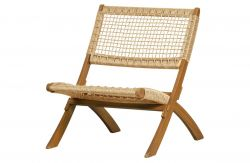 Outdoor Folding Chair Lois | Natural