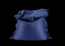 Sitzsack komplett 175 x 125 cm | Blau