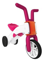 Bunzi 2-in-1 gradual balance bike Pink