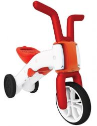 Bunzi 2-in-1 gradual balance bike Red
