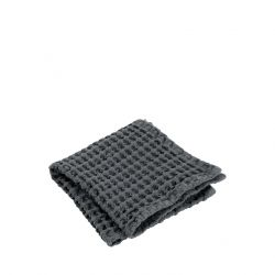Set of 2 Guest Hand Towels Caro | Magnet Grey