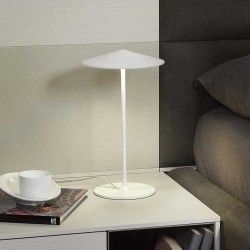 Lampe de table Ø 20 cm | Blanc