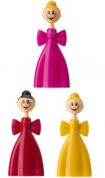 Magnetic Clips Set of 3 Dolls