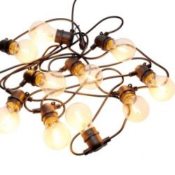 String Light Tobias Start Set 10 Lamps | Clear