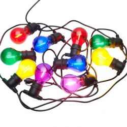 String Light Tobias Start Set 10 Lamps | Multicolour