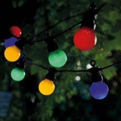 Guirlande Lumineuse Supplémentaire Lucas 10 Lampes LED | Multi Couleur