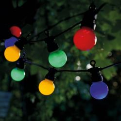Zusatzbandleuchte Lucas 10 Lampen | Mehrfarbig