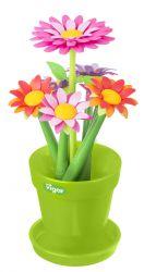 Vase avec 6 Fleurs Fleurs | Multi