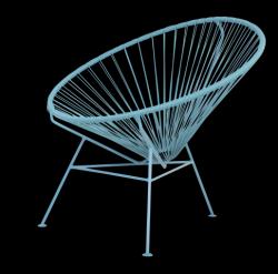 Condesa Chair | All Pigeon Blue