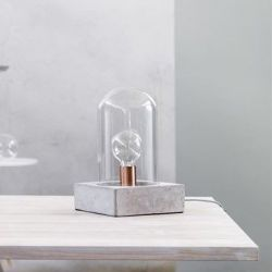 Buddy Table Lamp | Concrete Grey