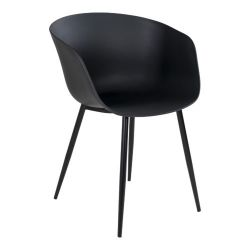 Outdoor Dining Chair Roda | Black