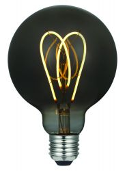 Light Bulb Curved Smoky