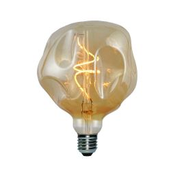 Light Bulb Globo Bumped Maxi | Gold