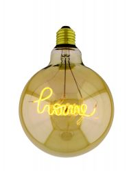 Light Bulb Curved Home Maxi | Gold