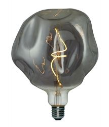 Light Bulb Filament Bumped Maxi | Smoky Grey