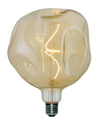 Light Bulb Filament Bumped Maxi | Gold