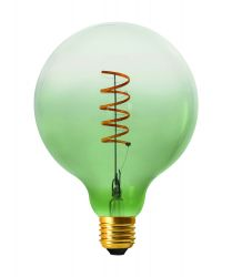 Light Bulb Coriandoli Maxi | Green / Transparent