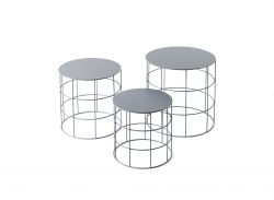 Reton Round Set of 3 | Coffee Table