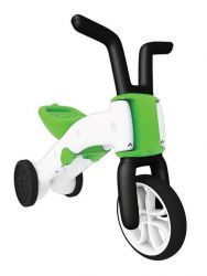 Bunzi 2-in-1 gradual balance bike Green