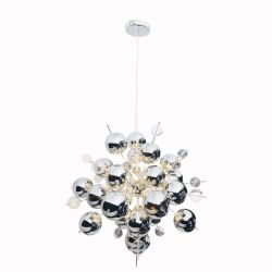 Pendant Lamp Explosion Small | Chrome