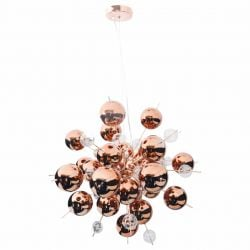 Pendant Lamp Explosion Small | Copper