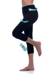 Sport Legging Emana Namaste | Schwarz