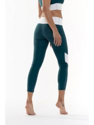 Sport Legging Yoga Details | Grün