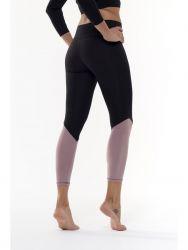 Sport Legging Yoga Details Extra High | Schwarz & Pink