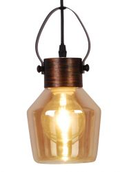 Pendant Lamp Alex 1 x E27 14 cm | Yellow