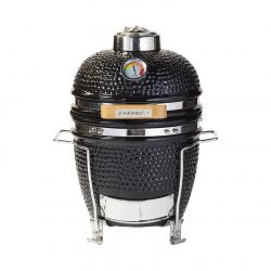 Charcoal Ceramic Barbecue with Frame 11''