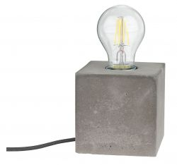 Concrete Table Lamp I
