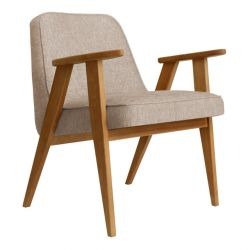 Armchair 366 Loft | Natural Oak & Sand