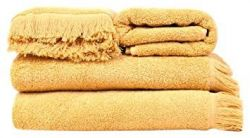 Set of 4 Towels | Gold