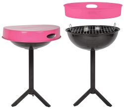 BBQ with Tray | Pink