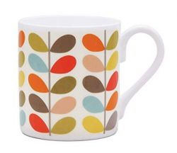 Mug Multi Colour Ten Stem