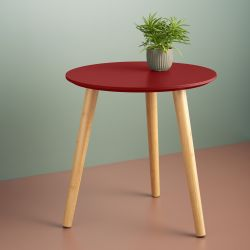 Side Table | Ocre Red
